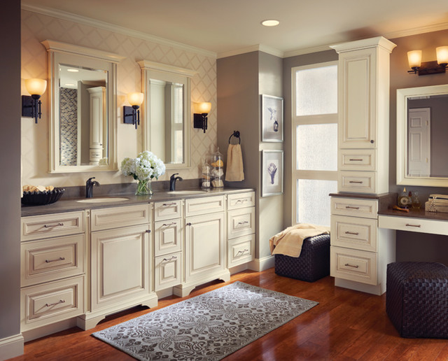Kraftmaid kitchen bathroom cabinets gallery kitchen cabinet kings traditional bathroom Master bathroom design photo gallery