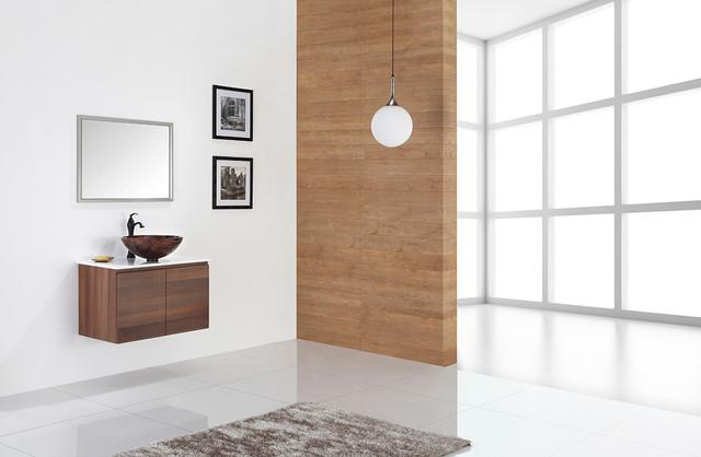 Kraus Gaia Glass Vessel Sink GV-398-19mm - Nature Series contemporary-bathroom