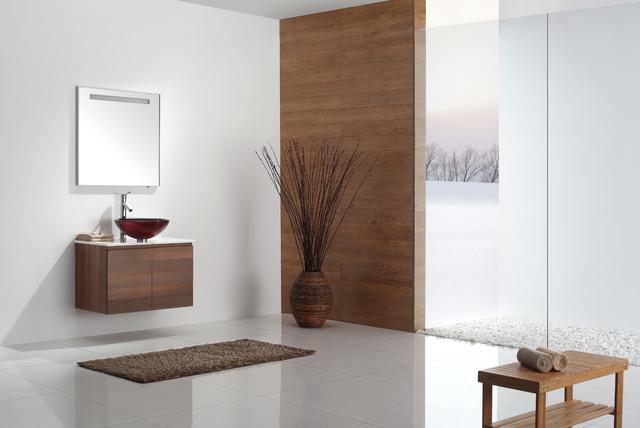 kraus gv 692 19mm charon glass vessel sink contemporary bathroom new york by kraus usa inc. Black Bedroom Furniture Sets. Home Design Ideas