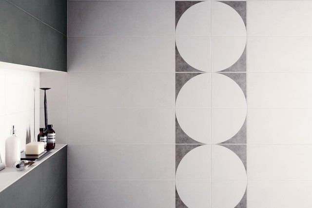 Kreo White with Fan Platinum.jpg contemporary-bathroom