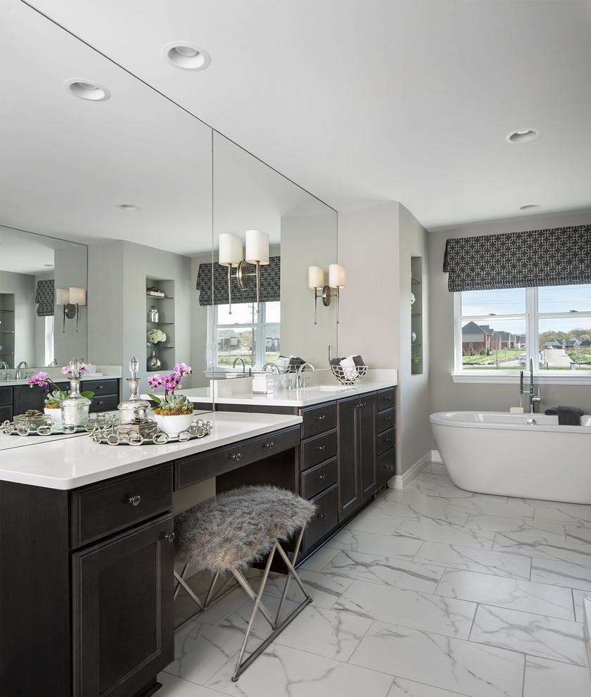 Ksi Designer Brie Daniel Transitional Bathroom