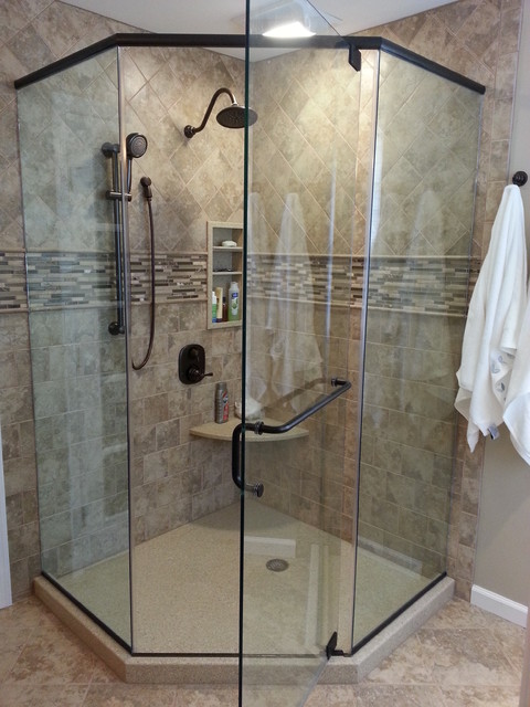 KSTR. Master Bath transitional-bathroom