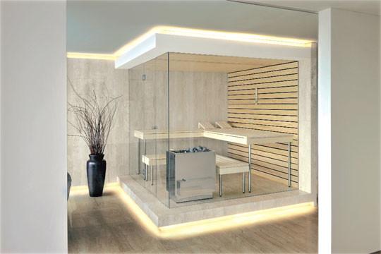 Kung Saunas Installs Contemporary Bathroom London