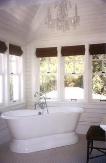 La Canada Dutch Colonial Eclectic Bathroom Los