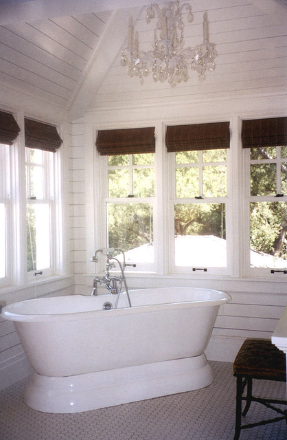 La Canada Dutch Colonial Eclectic Bathroom Los