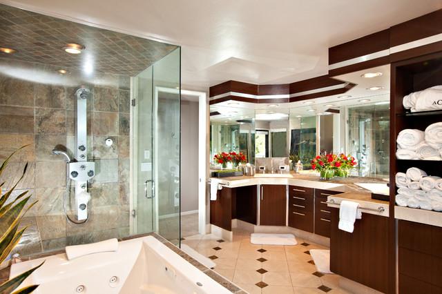 La Canada, San Diego contemporary-bathroom