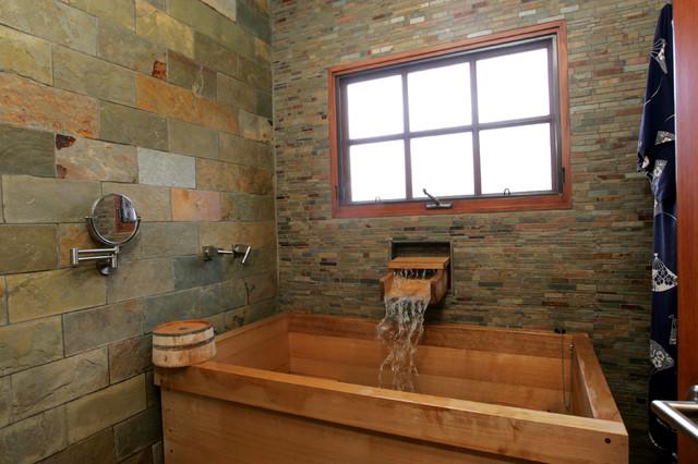 La crescenta asian master bathroom remodel with japanese for Bathroom ideas japanese