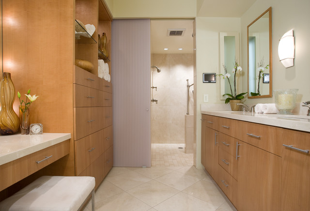 LA JOLLA CONDO REMODEL- BATHROOM contemporary bathroom