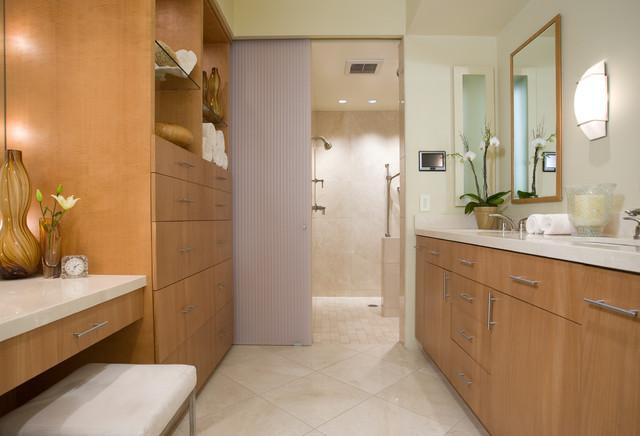 LA JOLLA CONDO REMODEL- BATHROOM contemporary-bathroom