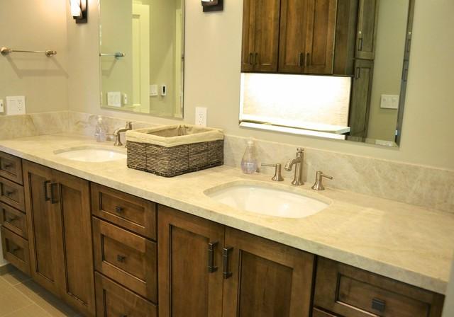 Lafayette residence transitional bathroom san for Bath remodel lafayette la