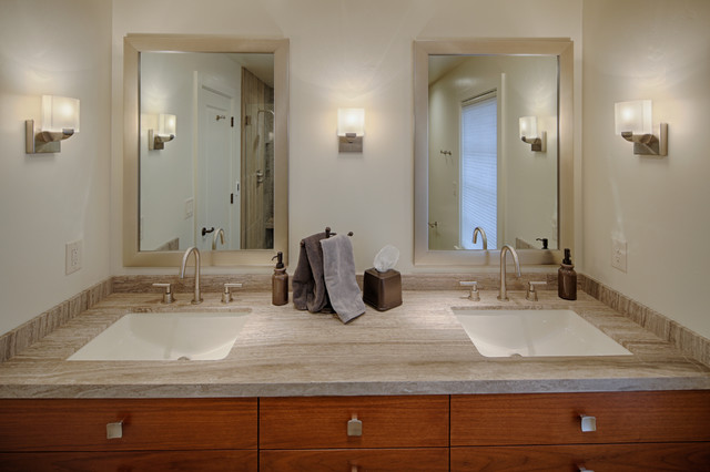 Lafayette residence contemporary bathroom san for Bath remodel lafayette la