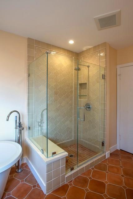 Lafayette spanish style home for Bath remodel lafayette la