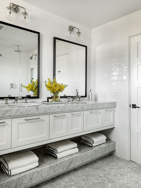 Laguna beach beach style bathroom orange county by - Bathroom vanities in orange county ...