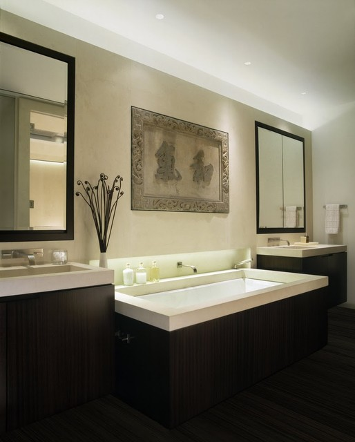 Laight Loft Master Bath modern bathroom