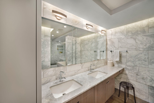 Natural Marble Bathroom
