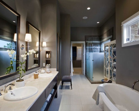 Lake Austin Bathroom Contemporary Bathroom Austin By Kimball Bonamici Designs