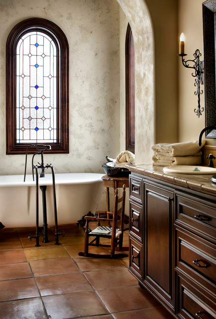 Lake Conroe Spanish Victorian Bathroom Austin By