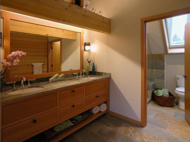 Bathroom - eclectic bathroom idea in Other