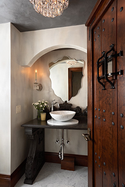 Lake Country Builders eclectic bathroom