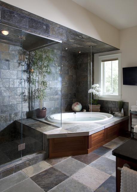 Lake Country Home traditional-bathroom