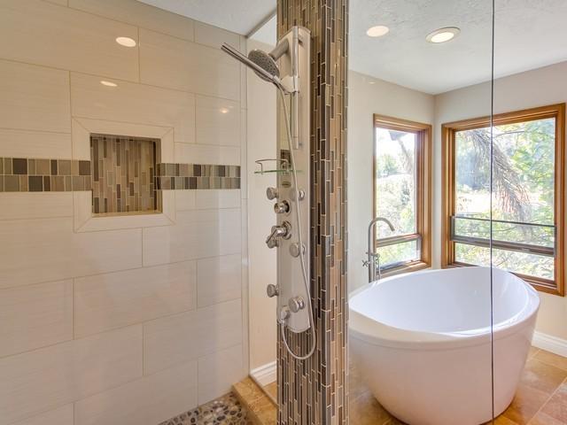 Lake Garden Remodel traditional-bathroom