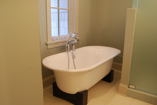 Lake Harriet Cottage Style - New Construction contemporary-bathroom