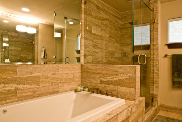 Lake Highlands - Bathrooms transitional-bathroom