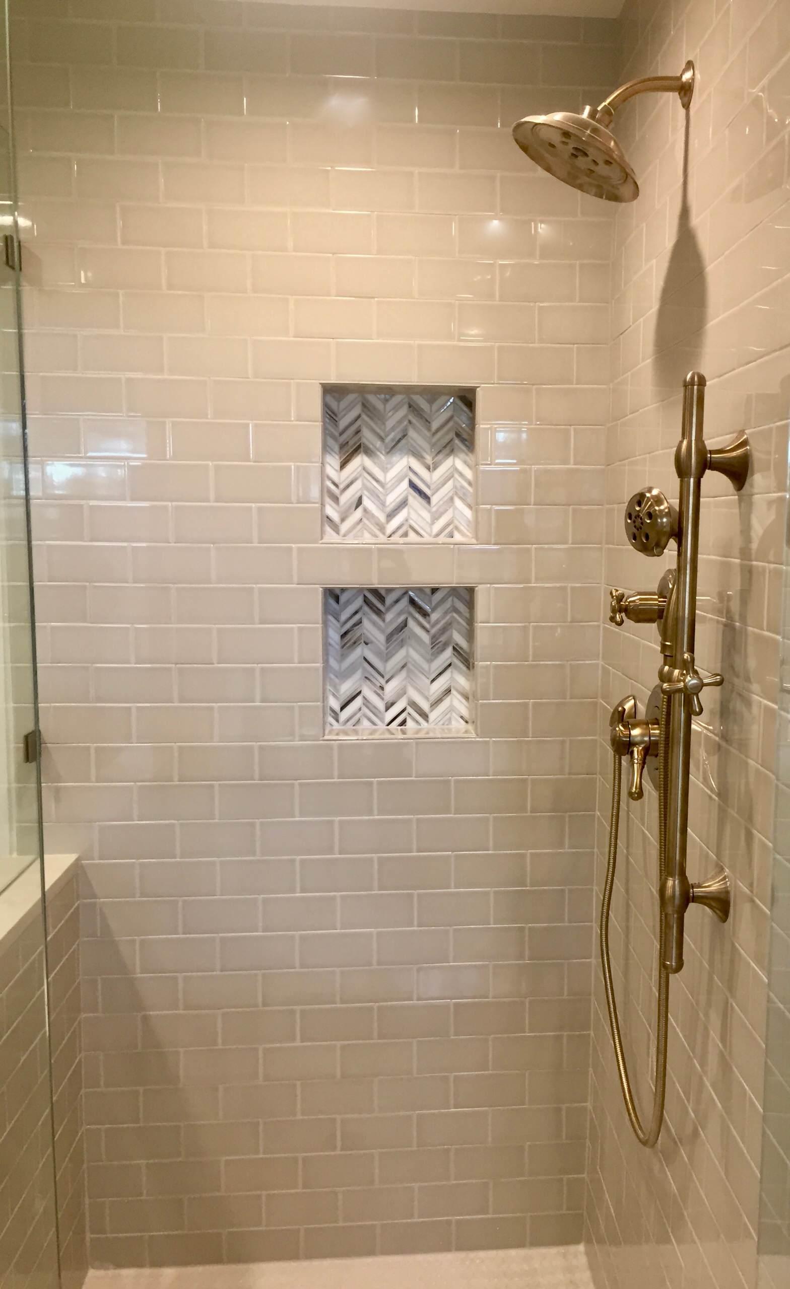 Lake Highlands Master Bathroom