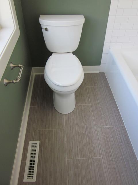 Lake Home traditional-bathroom