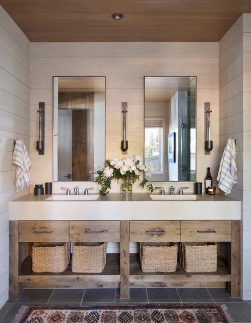 Lake House ラスティック-浴室
