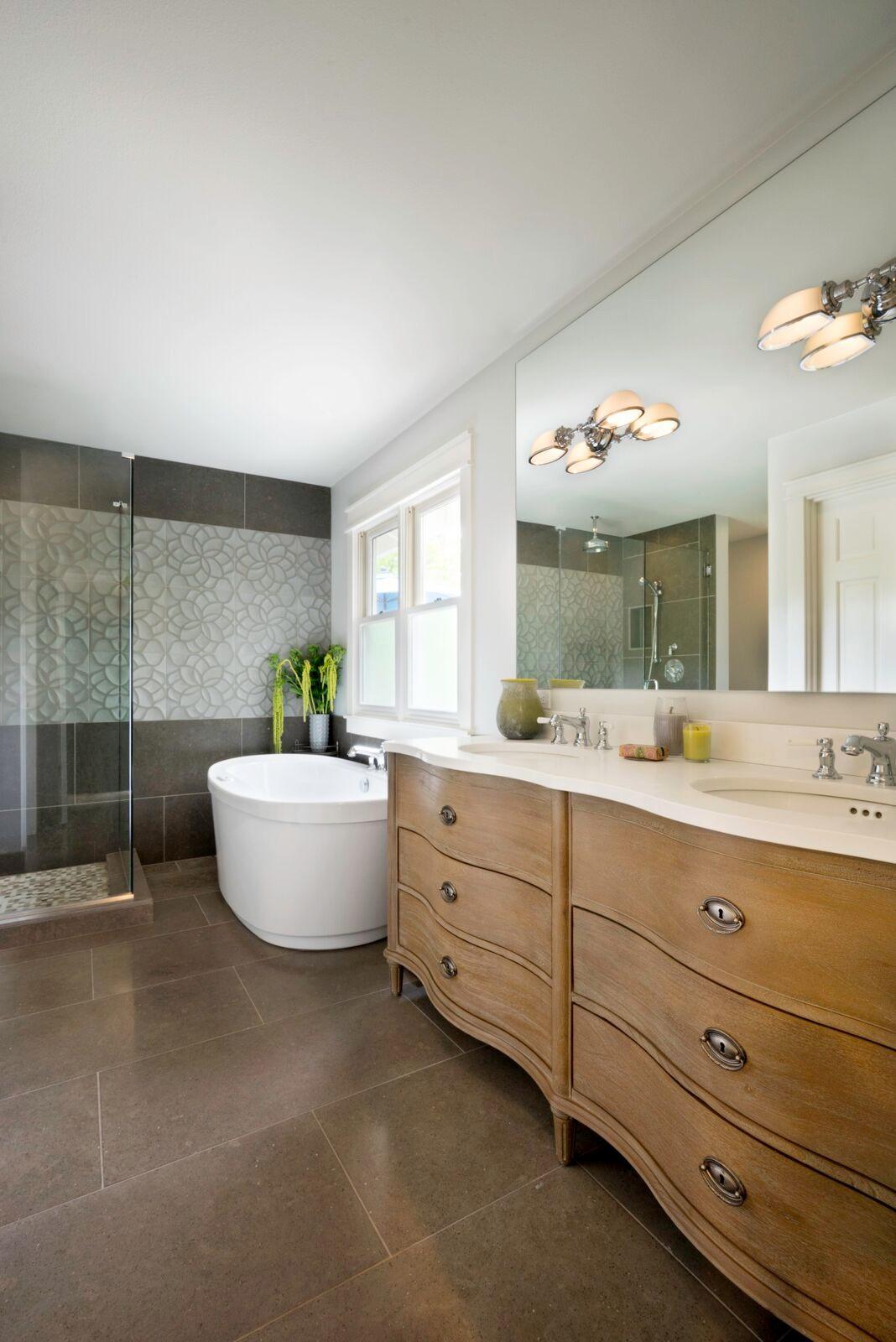 Lake House Master Bath