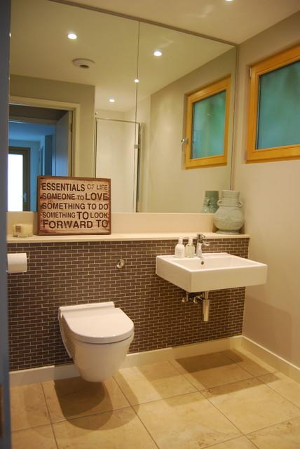 Lake House Contemporary Bathroom West Midlands By Orla O 39 Brien Interior Design