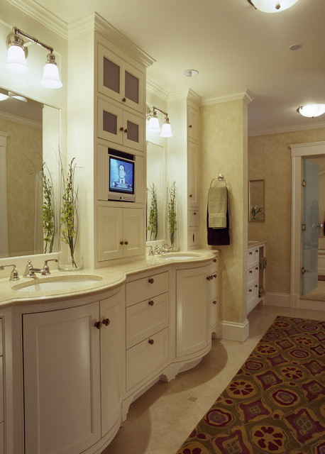 Lake House traditional-bathroom