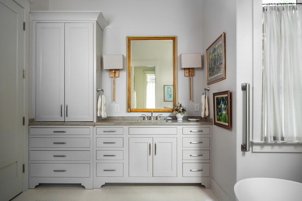 Lake Martin Luxury Home - Transitional - Bathroom ...