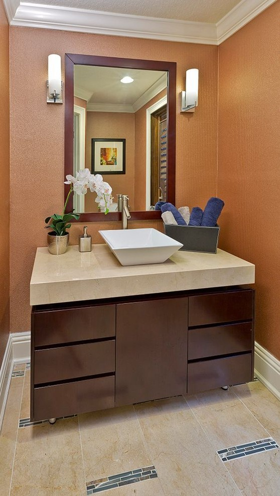 Lake Mary Transitional Home - Transitional - Bathroom ...