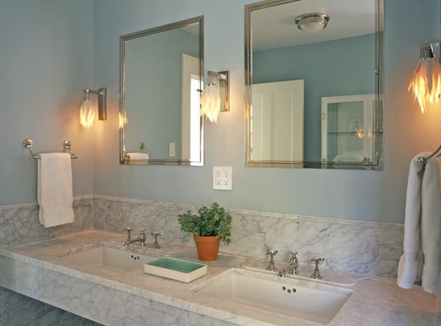 Lake Michigan House contemporary-bathroom
