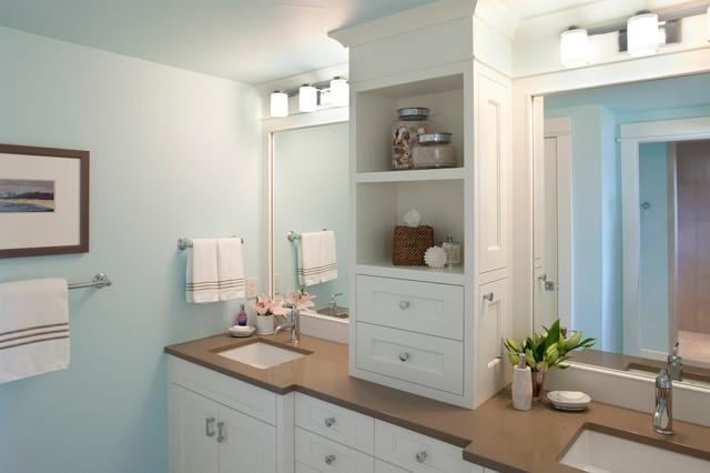 Lake Michigan Remodel beach-style-bathroom