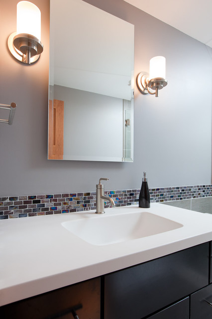Lake Minnetonka: Modern Bathroom Remodel bathroom