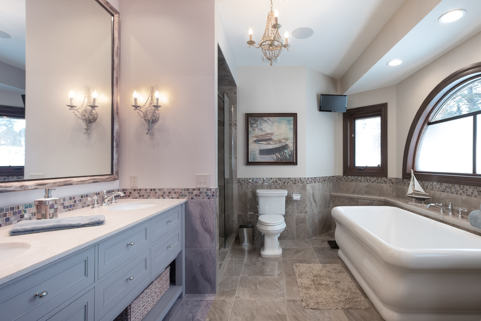 Inspiration for a bathroom remodel in Minneapolis