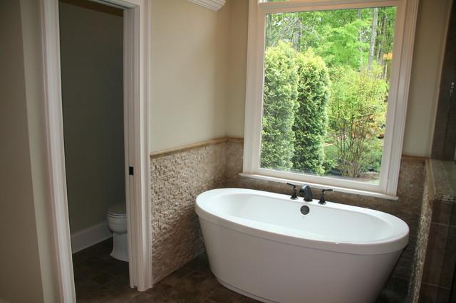 Lake Norman Custom Home traditional-bathroom