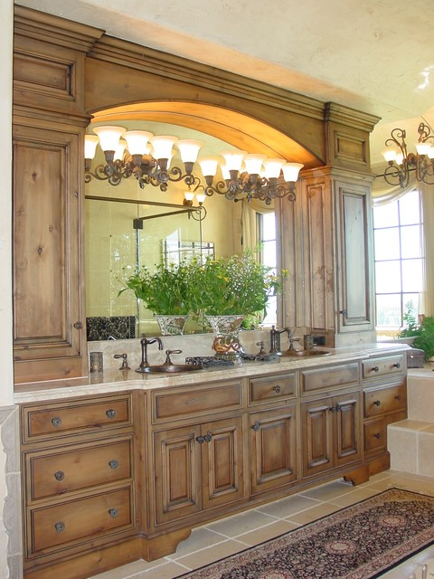 Lake Oswego Prestwick Home mediterranean bathroom