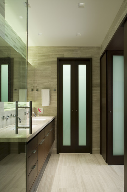 Lake Shore Drive Bathrooms contemporary bathroom