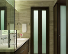 Lake Shore Drive Bathrooms contemporary-bathroom
