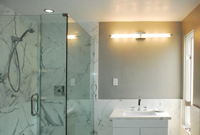 Lake Street House contemporary-bathroom