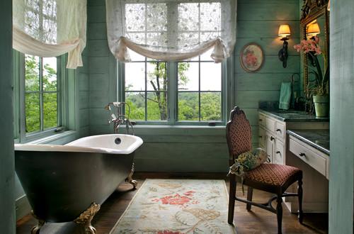 shabby chic style bathroom