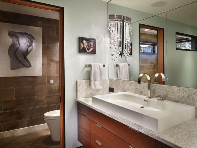 modern bathroom by Dan Nelson, Designs Northwest Architects