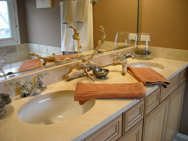 Lake View Client Bathroom contemporary-bathroom