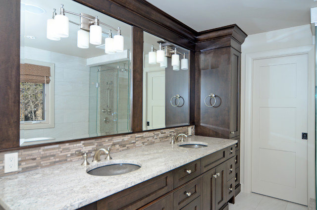 Lake View Project traditional-bathroom