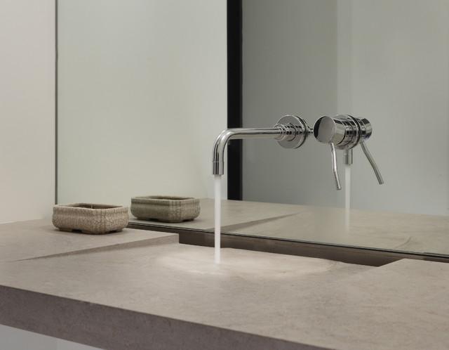 Lake Washington residence modern-bathroom