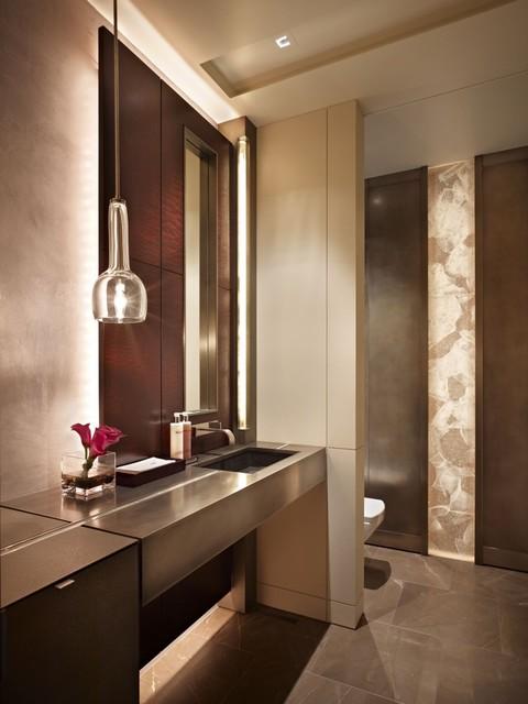 Lake washington shores contemporary bathroom vancouver by garret cord werner architects for Interior designer vancouver wa